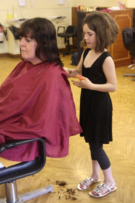 Mammalian Diving Reflex, Haircuts by Children