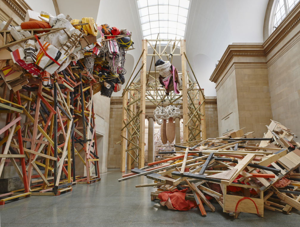 Phyllida Barlow at Venice 2017 selected by panel including CCA's Matt Packer