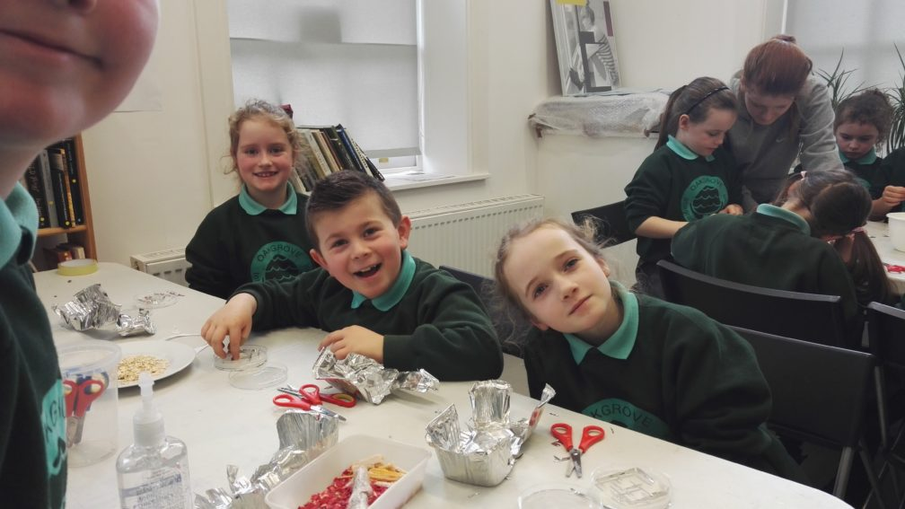Schools' Programme – Slime Mould and Trains with Jasmin Marker